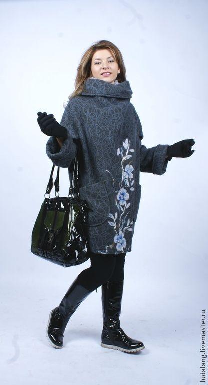 Оверсайз, одежда с плеча бойфренда. Новые модели пальто - Ярмарка Мастеров - ручная работа, handmade