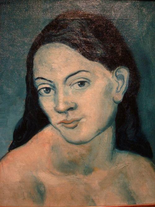 Pablo Picasso, Head of a Women , 1903.