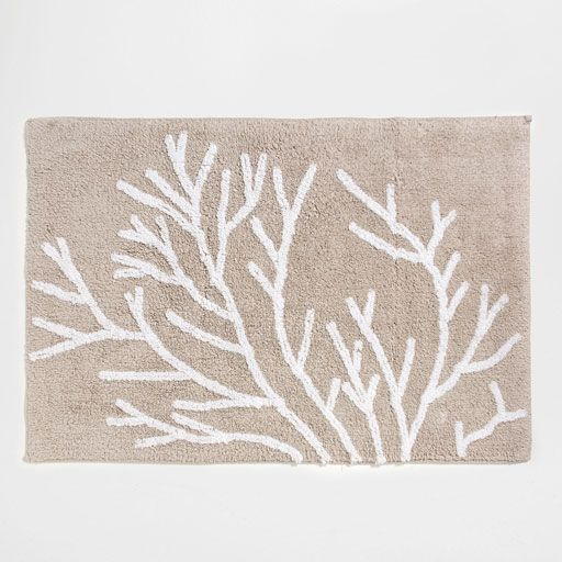 Image of the product CORAL COTTON BATH MAT