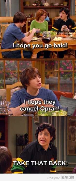 drake and josh: Oprah, Funny Things, Quote, Giggles, Funny Stuff, Movie, Humor, Drake And Josh, Drakeandjosh