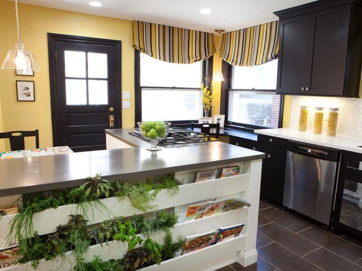 Creative Kitchen Window Treatments Hgtv Pictures Ideas: 17 Best Ideas About Kitchen Garden Window On Pinterest