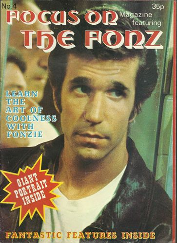 THE FONZ - FOCUS ON POSTER MAGAZINE 1978