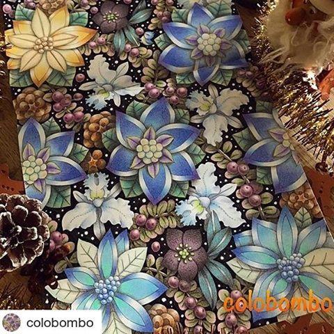 Flores lindas by  @colobombo with @repostapp 寒くなったせいか、当初より豪華に塗ってしまいましたが(笑)やっと完成です! #ぬりえ#塗り絵#おとなのぬりえ#大人の塗り絵#コロリアージュ#daiso癒しの塗り絵 #花の国 #ダイソー #花#ポインセチア#クリスマス #coloriage#coloringbook#adultcoloringbook#desenhoscolorir#colouringbook#colorindolivrostop#coloring_secrets#boracolorirtop#daisojapan#100yenshop#flower#poinsettia#xmas #colorpencil #johannabasford #flowers  #art