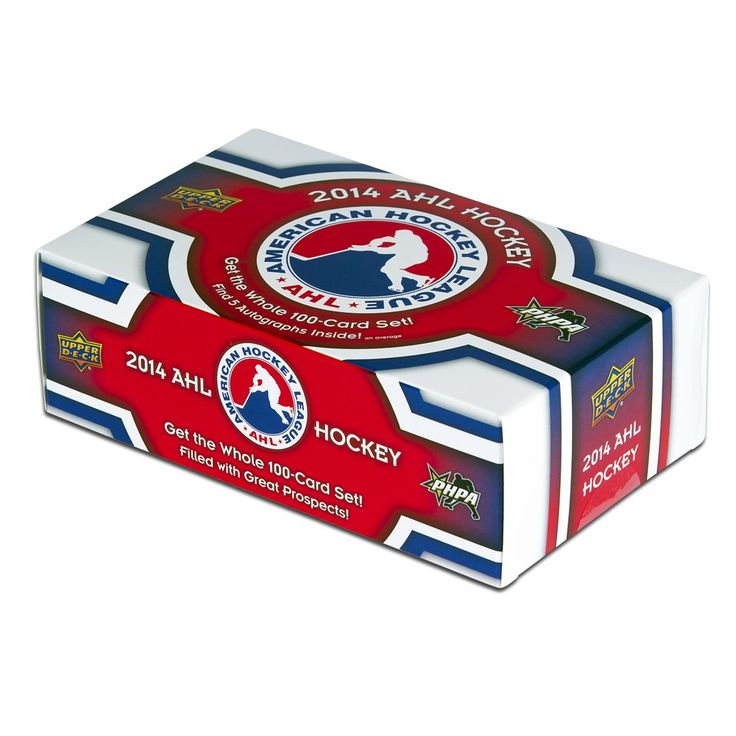 The Inaugural Upper Deck 100-card PHPA - American Hockey League box set.