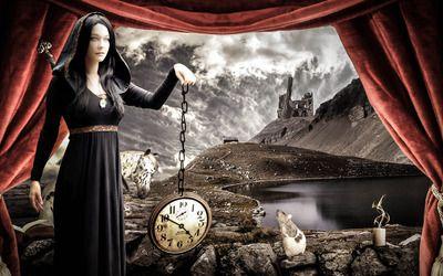 Queen of time wallpaper