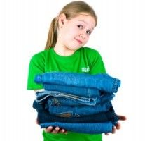 Choosing school clothes for your kids