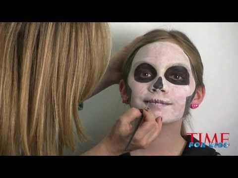 Trucco di Halloween bambini da scheletro - VideoTrucco