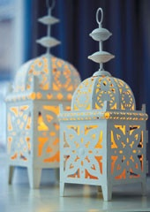 Would love to use Moroccan lanterns for lighting/accent pieces.