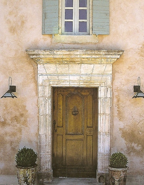 the perfect front door La Provence !!