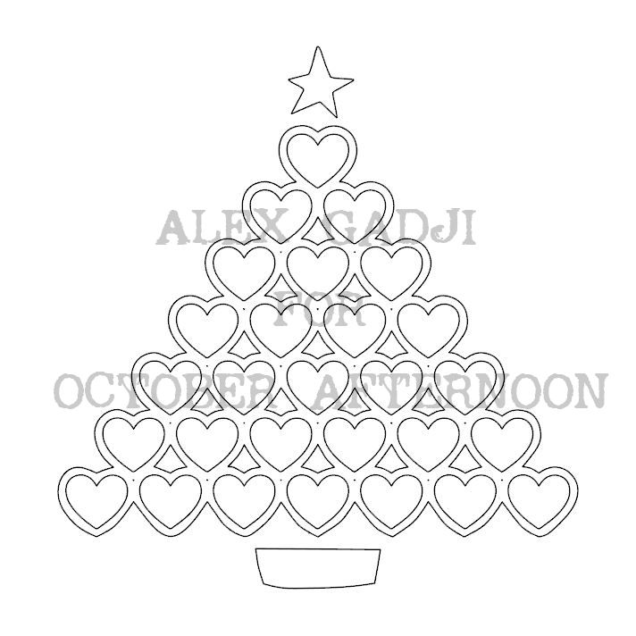 Multi-photo Christmas Layout   Cut File