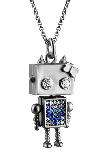 Bagnic Un Amour De Robot Necklace