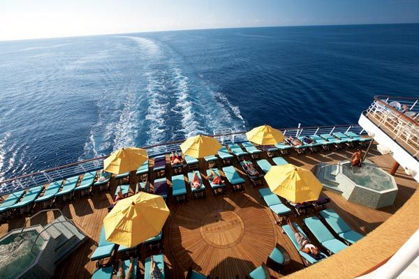 Serenity Retreat- Adults Only Area on the Carnival Glory.