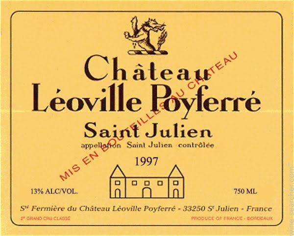 Chateau Leoville Poyferre, Saint-Julien, France