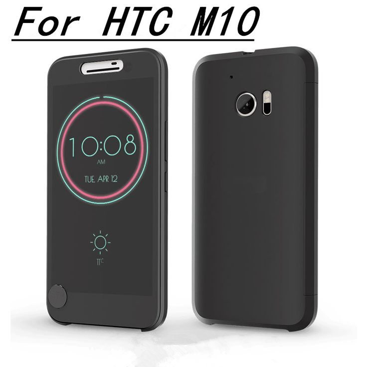 >> Click to Buy << Slim Dot Bag Smart Auto Sleep Wake View Shell Case For HTC 10 M10 Silicone Flip Leather Shockproof Phone Case For HTC One M10  #Affiliate