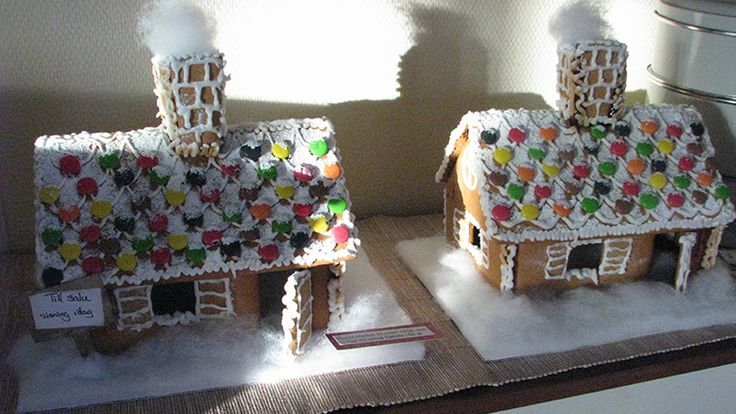 Gingerbread houses, made the same way for the last 60 years