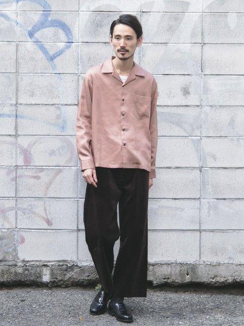 URBAN RESEARCH|otsukiさんの「UR リヨセルドロップオーバーシャツ(URBAN RESEARCH|アーバンリサーチ)」を使ったコーディネート