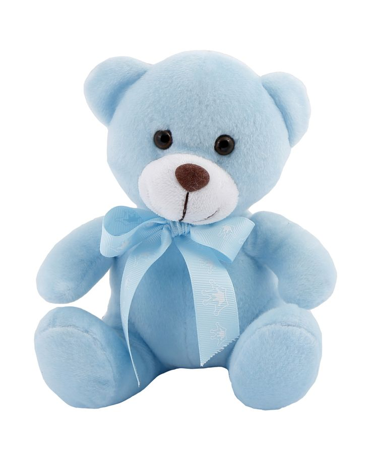 Celebrate the arrival of a baby boy with a Teddy Bear he'll love growing up with. This Bowtie Bear wears a baby blue bowtie .A great gift for the new baby or the new parents .#NewBaby #TeddyBear