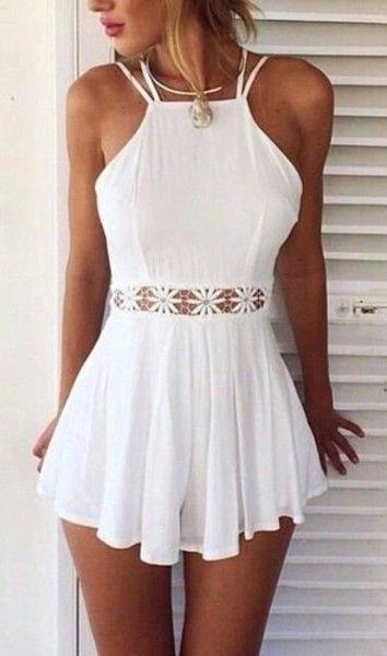 White lace backless rompers womens jumpsuit 2015 new summer batwing off shoulder overalls playsuits clothing plus size zly163