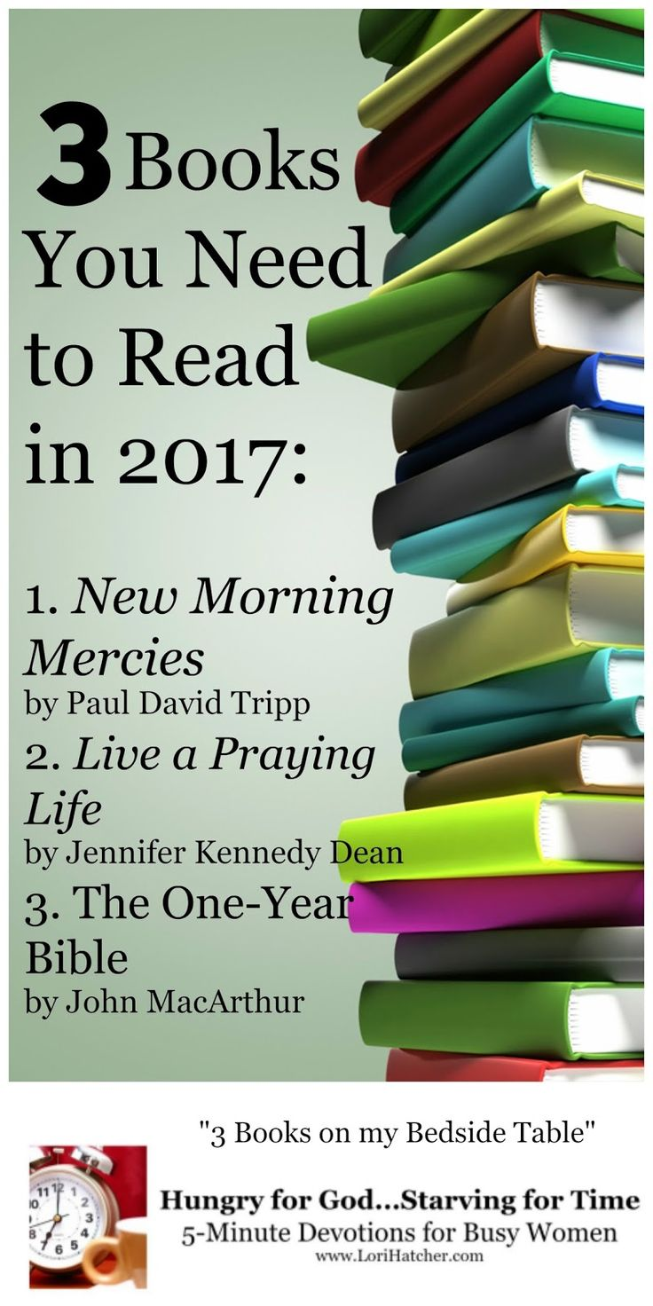 If you're looking for life-changing books to read this year, here's my short list.