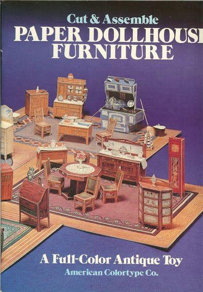 Paper Dollhouse Furniture - Assai Elle - Picasa Web Albums