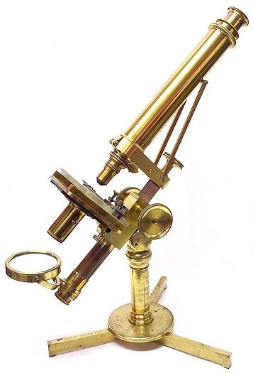 victorian microscope. www.decorarconarte.com
