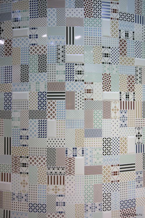 Новинки плитки на выставке Cevisama 2014. Фото с выставки
