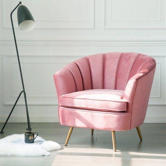 Terrific Plush Velvet Accent Chair In 3 Colours Please Specify When Evergreenethics Interior Chair Design Evergreenethicsorg