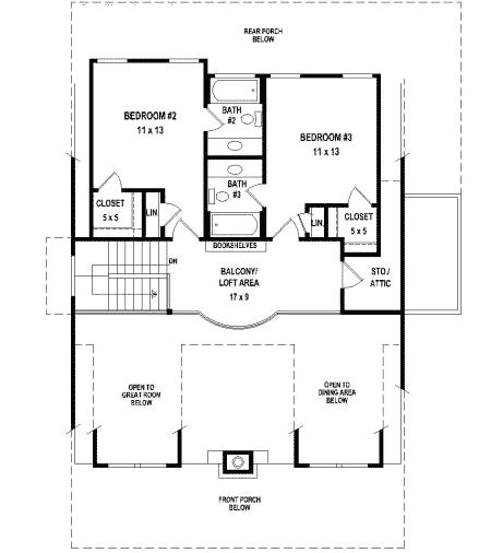 288 Best House Plans Images On Pinterest | Architecture, Small House Plans  And Home Plans
