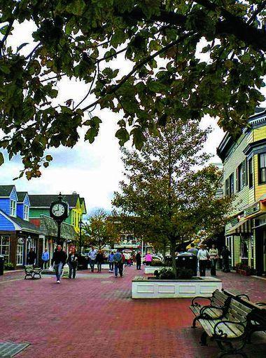 Washington Street Mall at Cape May, New Jersey