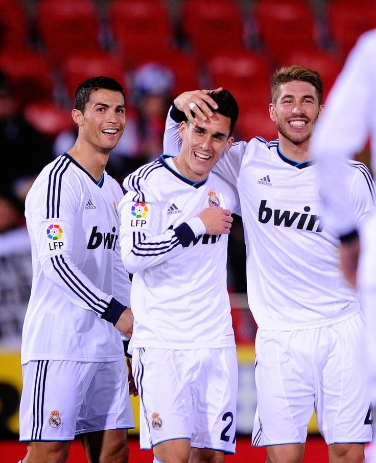CR, Callejon, and Ramos - Real Madrid