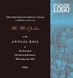 138 best Corporate Invitations images on Pinterest Corporate