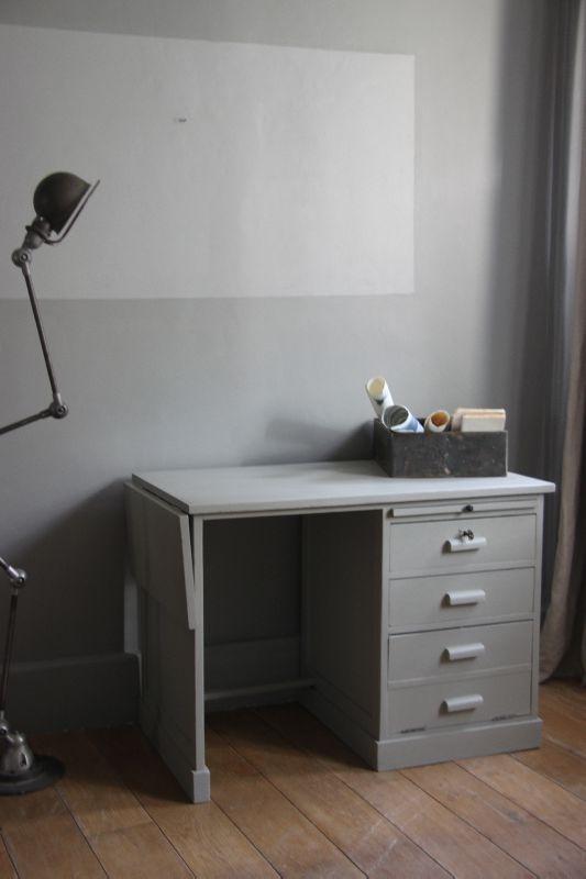 les 25 meilleures id 233 es concernant bureau repeint sur armoires 224 classeurs peintes
