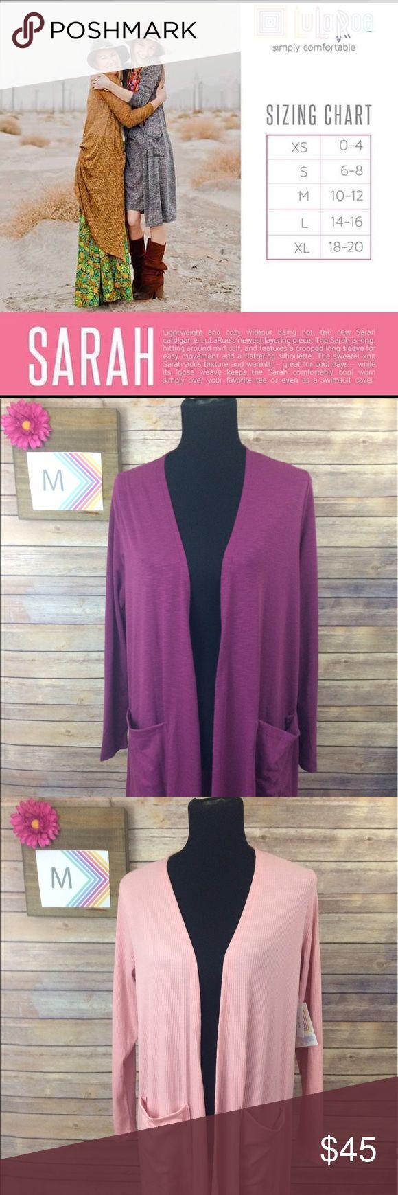 LuLaRoe Sarah Dusters All are brand new with tags! LuLaRoe Sweaters Cardigans