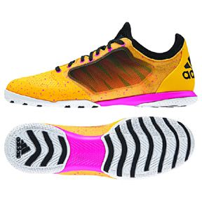 adidas  x15.1 CT Indoor Soccer Shoes (Solar Gold/Black/Pink)