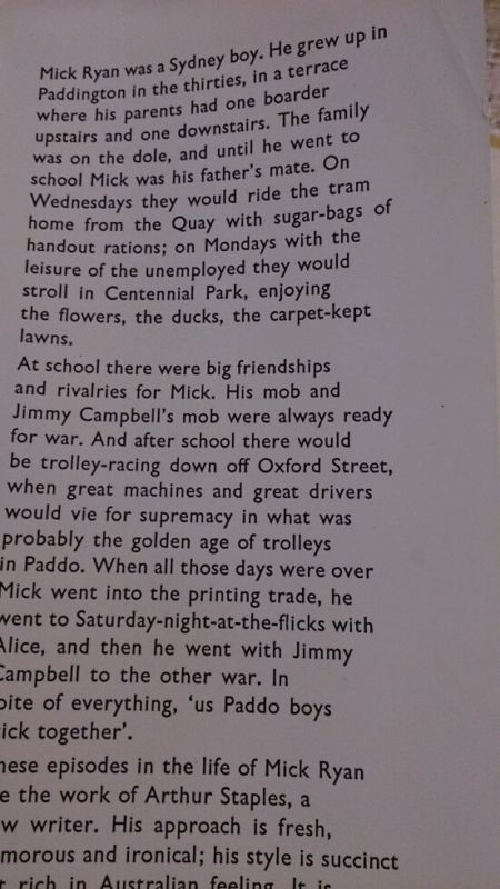 Paddo by Arthur Staples 1930s Paddington Sydney Vintage Children's Book 1964