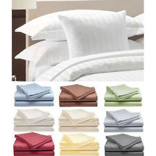Diskon 66% untuk 4-Piece Hotel Quality Striped Bed Sheet Set by RC Collection[Black,King]! Total biaya hanya Rp 874.599,78 (Kurs : Rp 13.700,00). Beli sekarang = https://jasaperantara.com/pembelianbarang/ebay/?number=1&calckodepos=15225&query=291153039775&quantity=1&jenis=bin&btnSubmit=Hitung , eBay = http://cgi.ebay.com/291153039775