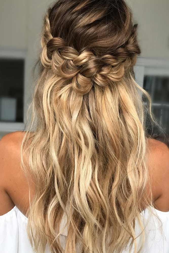 18 Nice Holiday Half Up Hairstyles For Long Hair Hair Hair Hair