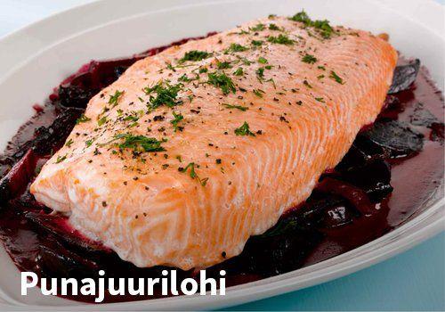 Punajuurilohi Resepti: Valio #kauppahalli24 #ruoka #resepti #punajuurilohi