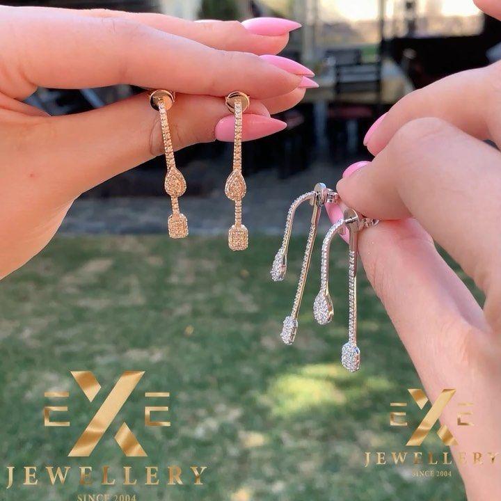 Ezizlerinizi Ve Sevdiklerinizi Exe Jewellery Nin Goz Qamashdiran Modelleri Ile Sevindirin Exe Jewellery Catdirilma Xidmediti Jewelry Drop Earrings Jewels
