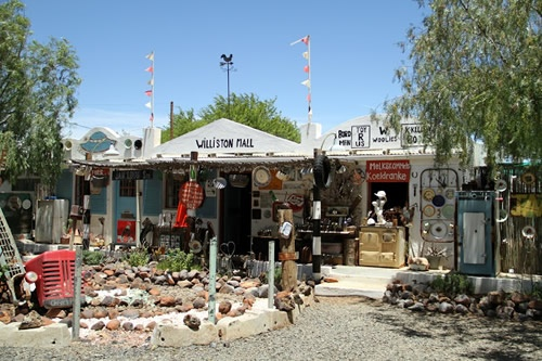 Williston Mall aka Die Ark in the Karoo town of Williston, Northern Cape