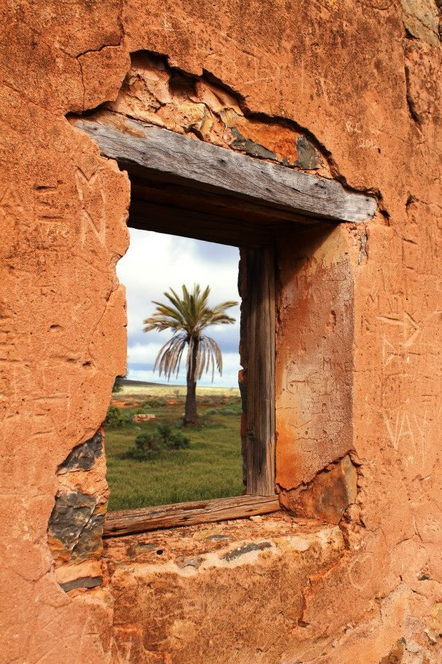 Kanyaka Homestead Historic Site Window to yesterday Flinders Ranges Dianah Mieglich