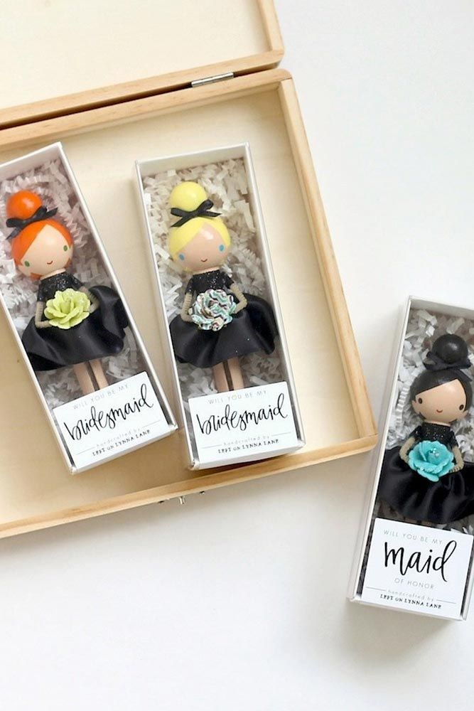 24 Cute and Thoughtful Bridesmaids Gifts for Your Girls Bridesmaids gifts symbolize your love and appreciation to those who have been with you from the very beginning of this bridal mess. That is why it has to be something unique and something that can be carried through years without losing its meaning and value. http://glaminati.com/thoughtful-bridesmaids-gifts/