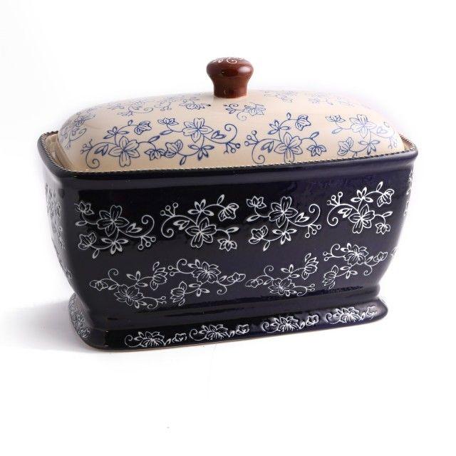 temp-tations® Floral Lace Covered Bread Box :: temp-tations® by Tara