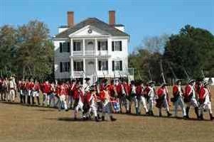Historic Camden Revolutionary War Site  Camden, South Carolina USA