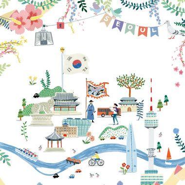 서울시 기념품 엽서 제작