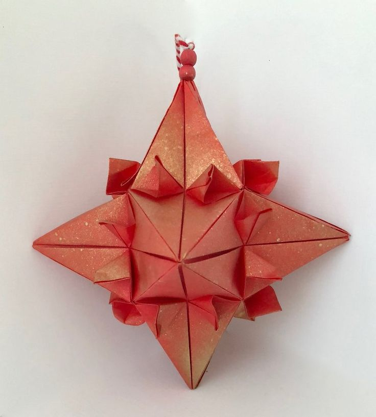 Cross Star redgold Amazing GiftsHoliday DecorationsRed