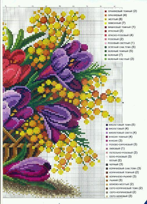 vaso+fiori+puntocroce05a.jpg (506×700)
