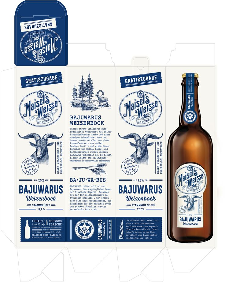 Bajuwarus Weizenbock on Behance