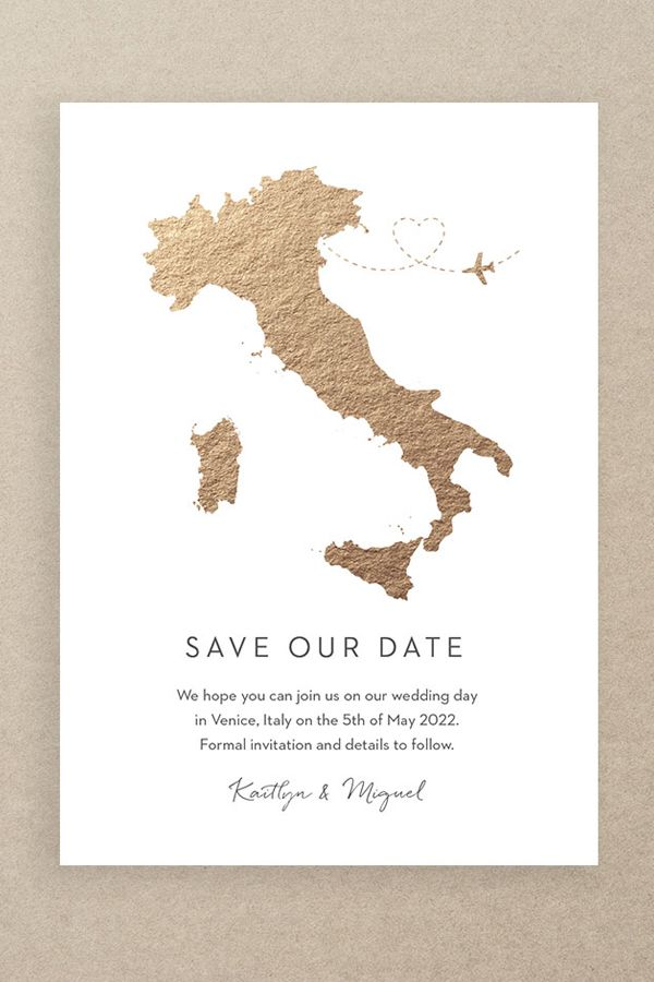 Save The Date Cards And Magnets Destination Wedding The Foil Invite Company Destination Wedding Save The Dates Save The Date Invitations Save The Date Cards