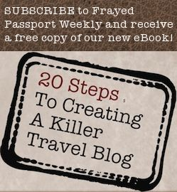 Eight prompts to kick-start your travel writing - Frayed Passport